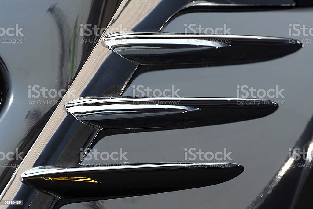 black car abstract background royalty-free stock photo