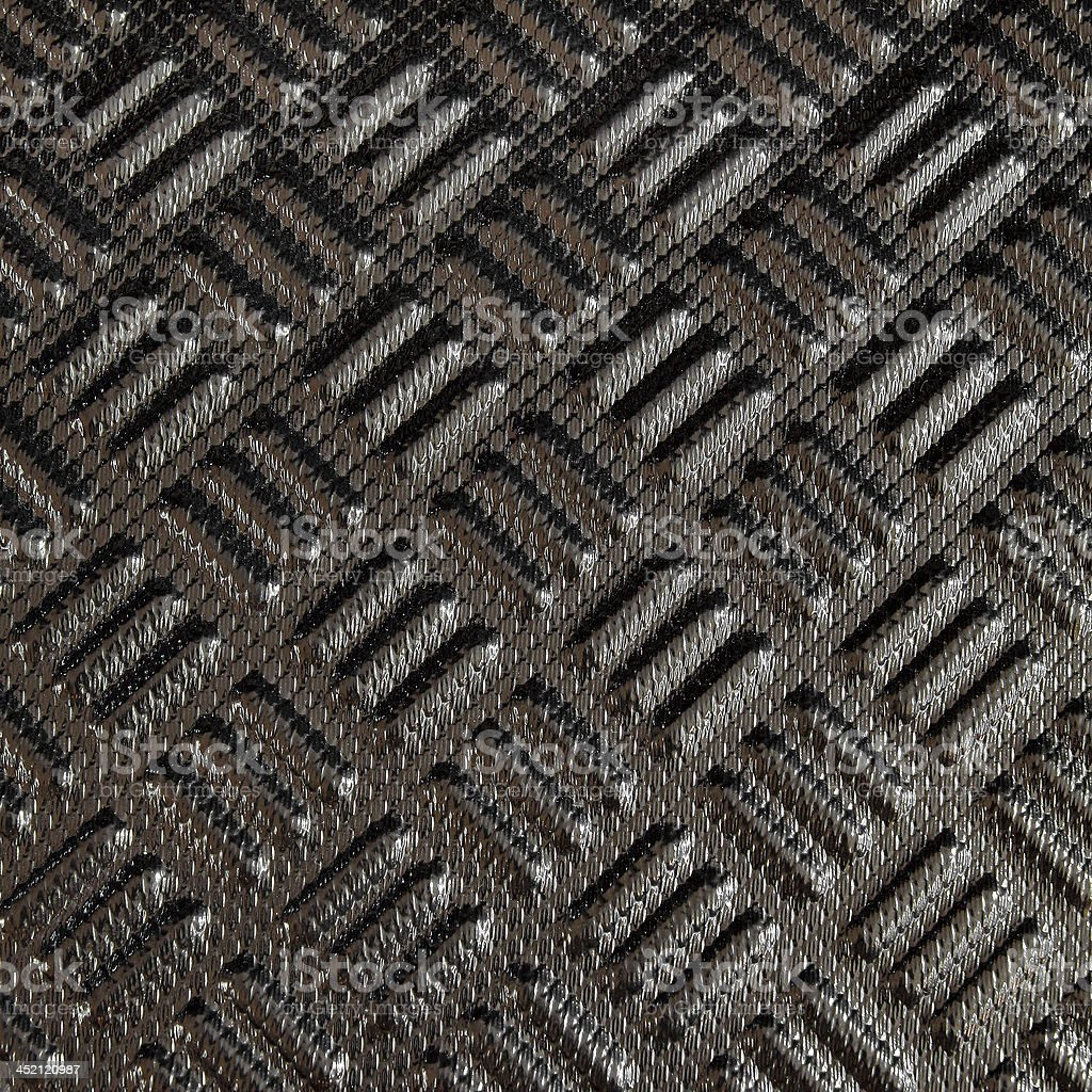 Black carbon Kevlar texture background stock photo