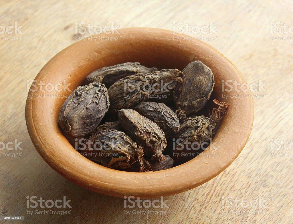 black cardamom royalty-free stock photo