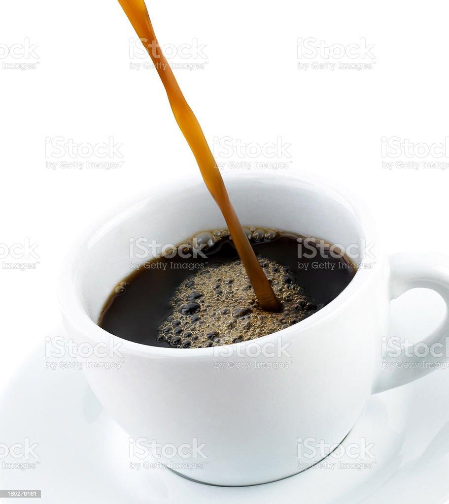 black coffe royalty-free stock photo