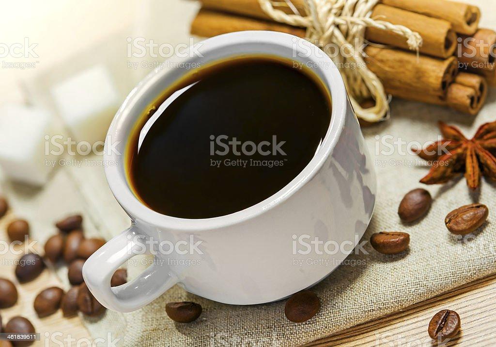 Black coffee royalty-free stock photo