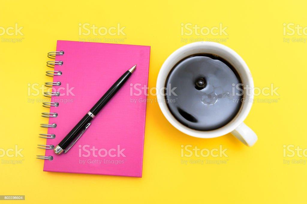 Black coffee stock photo