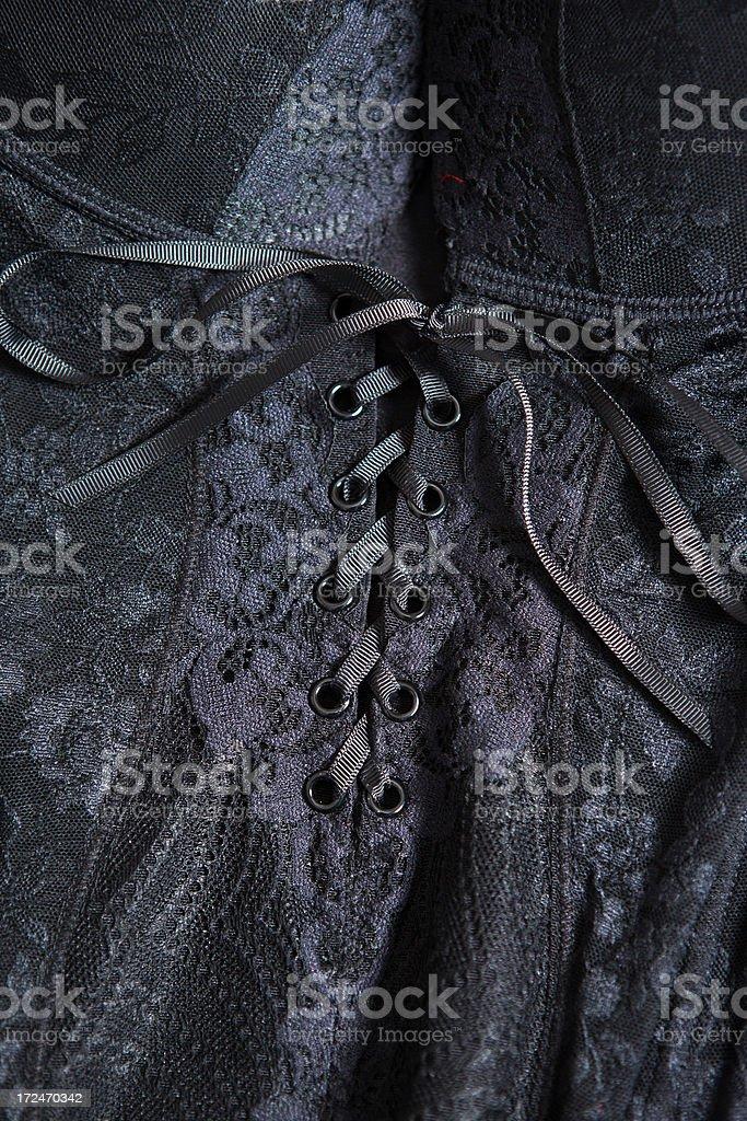 Black Corset royalty-free stock photo