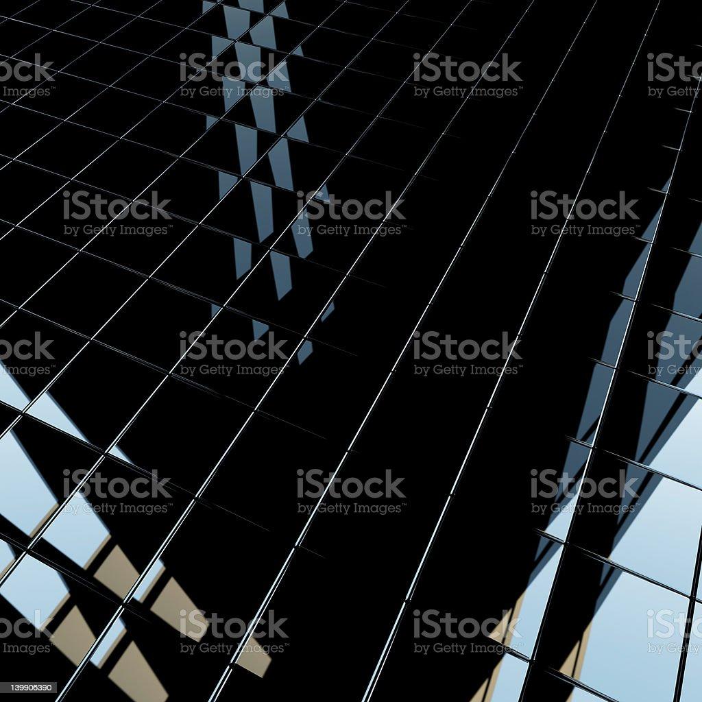 Black cubes royalty-free stock photo