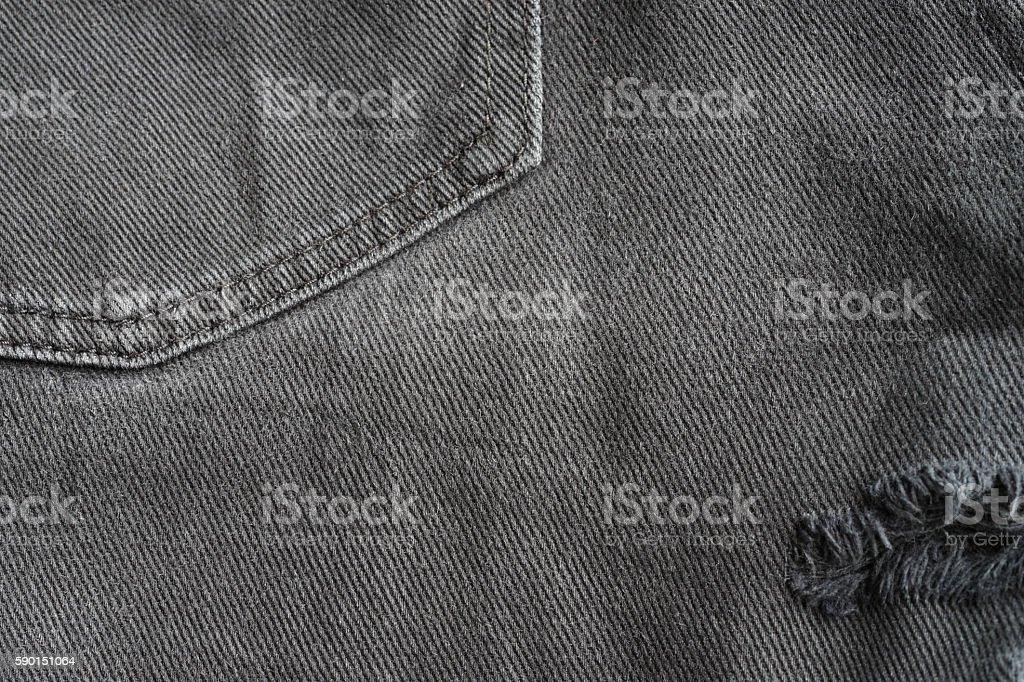 Black denim jeans texture royalty-free stock photo