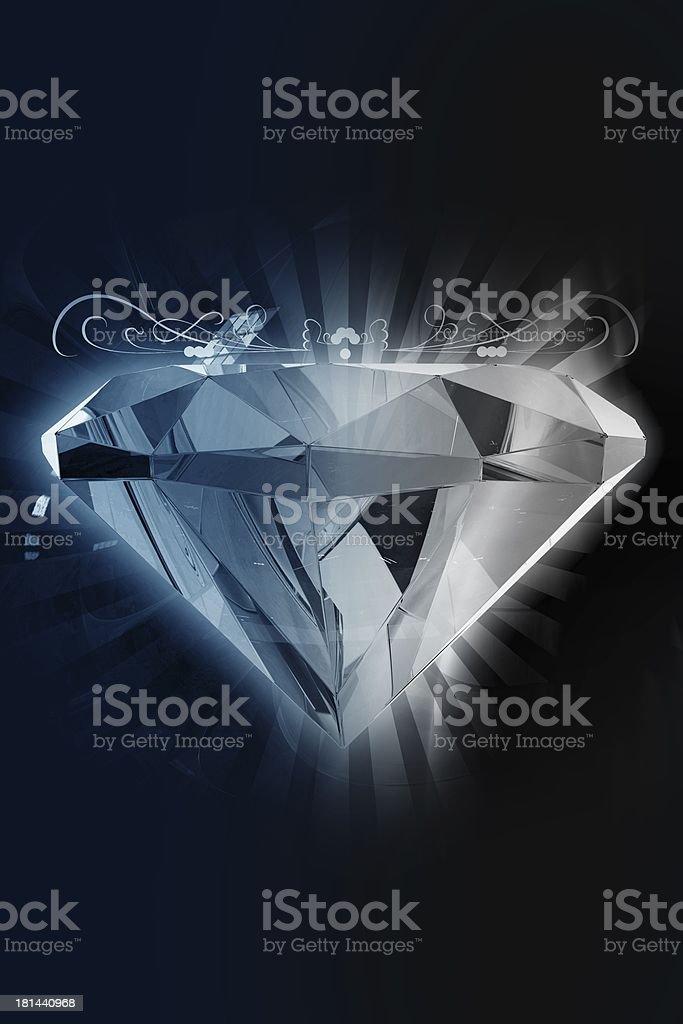 Black Diamond royalty-free stock photo