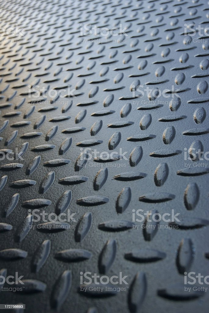 Black Diamond Tread Background Vertical Infinity royalty-free stock photo
