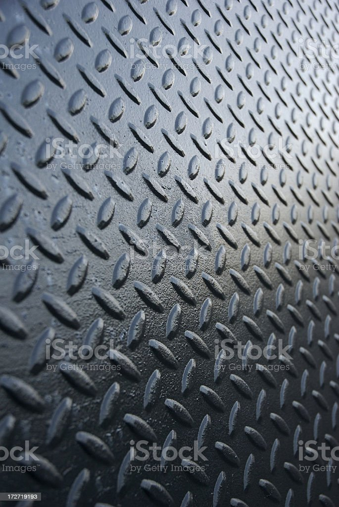 Black Diamond Tread Background Vertical royalty-free stock photo