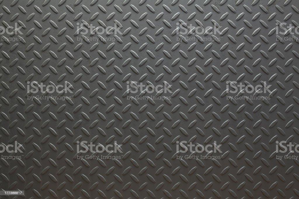 Black Diamondplate stock photo