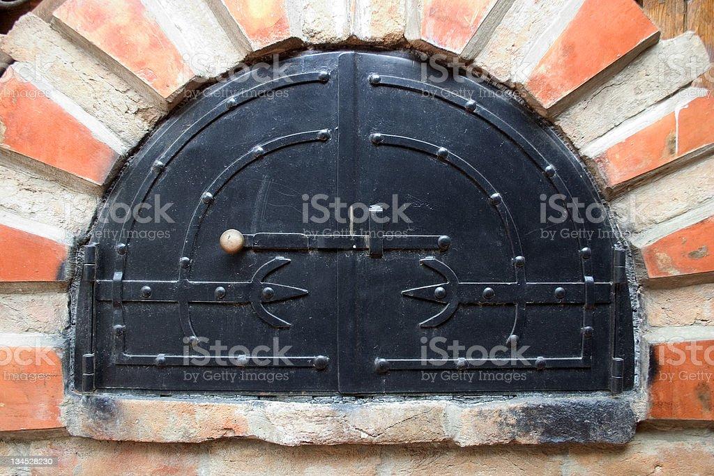 black door royalty-free stock photo