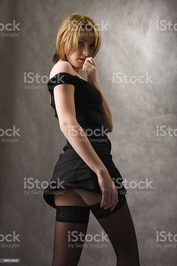 Black Dress royalty-free stock photo