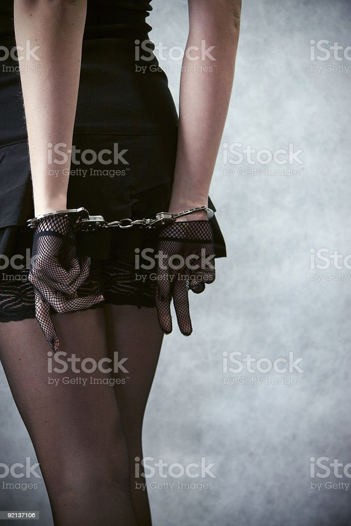 Black Dress royalty-free stock photo