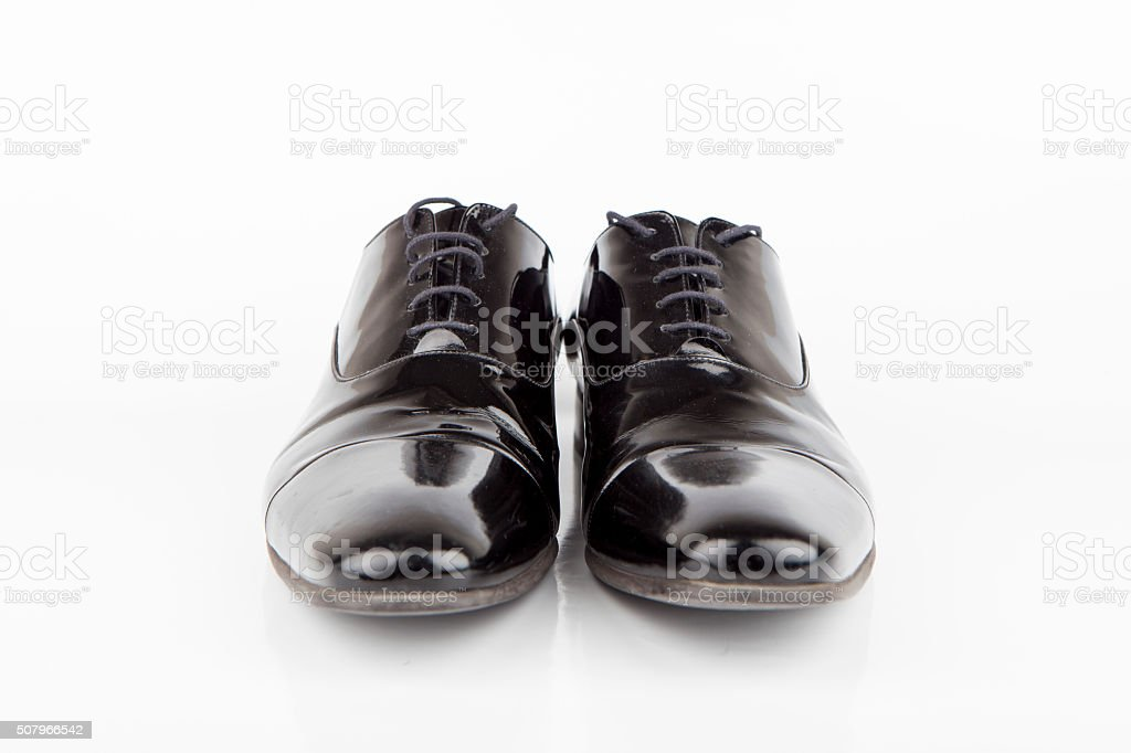 Black Dress Shoes stock photo