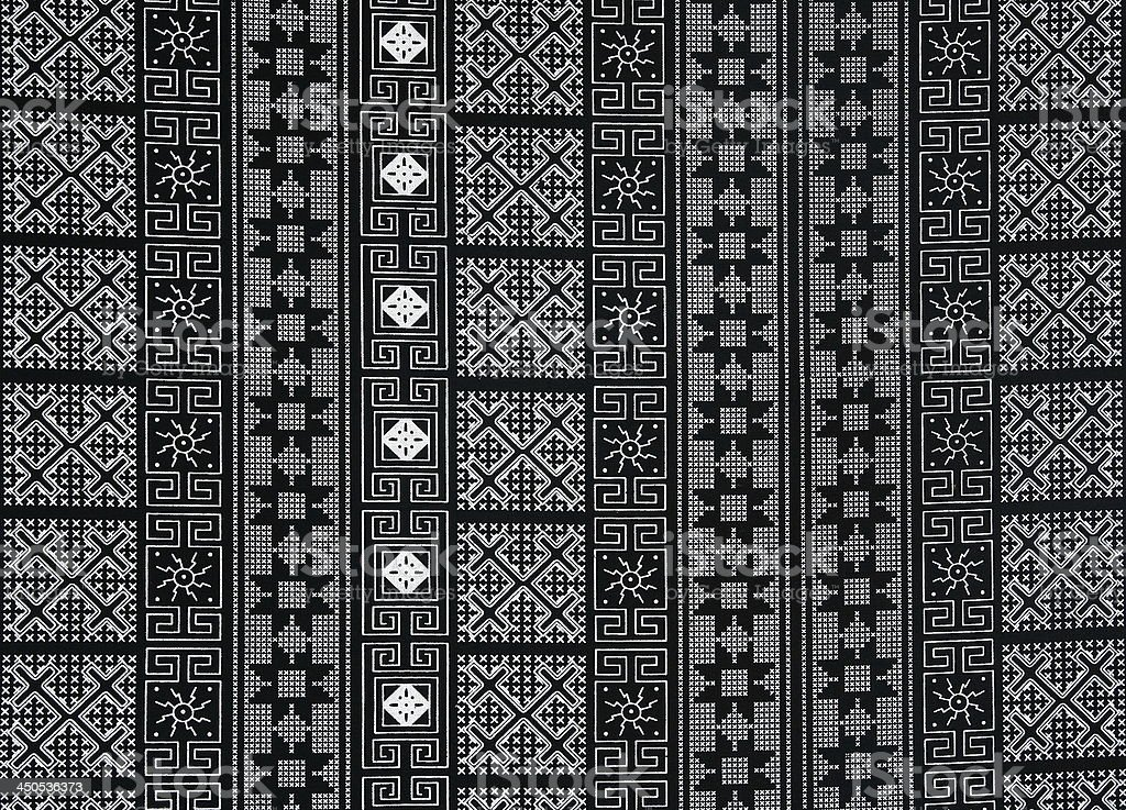 black fabric pattern stock photo