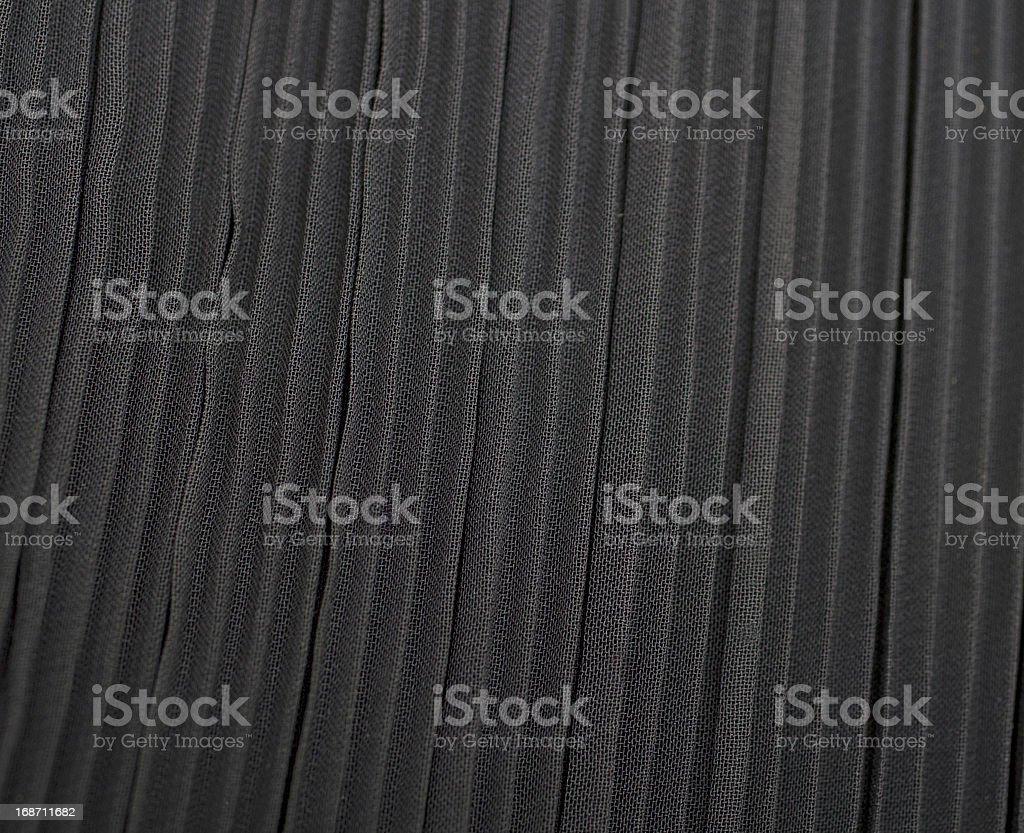 Black Fabric royalty-free stock photo