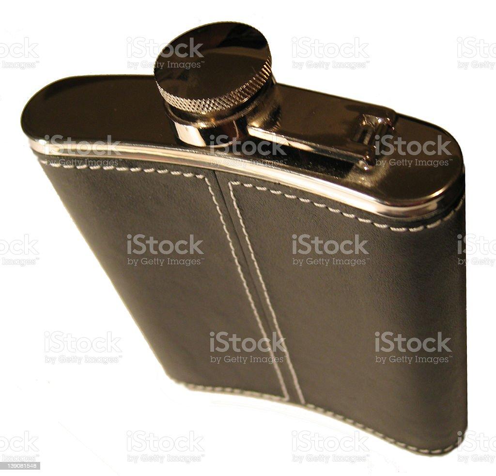 Black Flask royalty-free stock photo