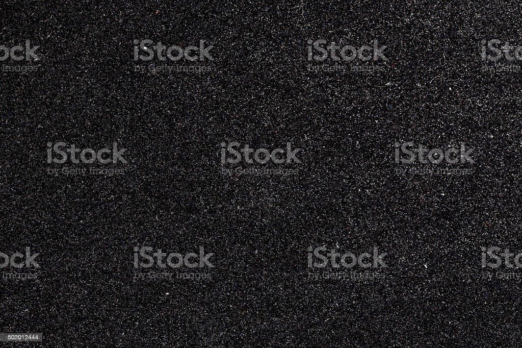 Black foam close-up stock photo