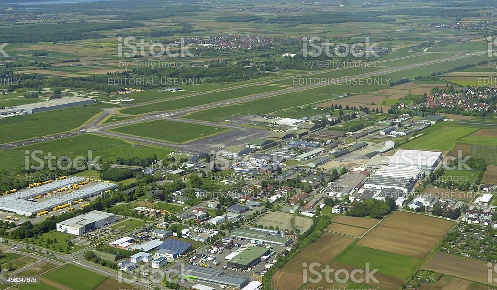 Black Forest Airport Industrial Park royalty-free stock photo