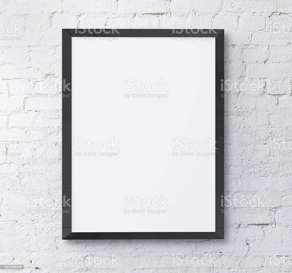 black frame stock photo