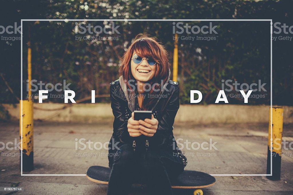 Black Friday stock photo