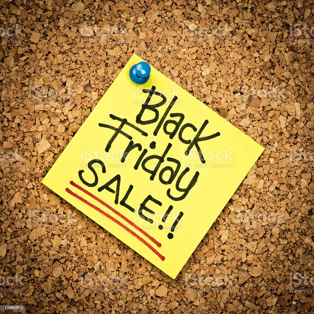 Black Friday Sale! royalty-free stock photo