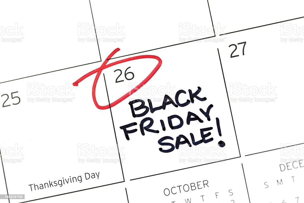 Black Friday Sale royalty-free stock photo