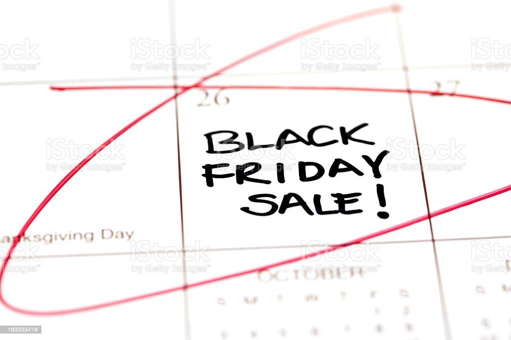 Black Friday Sale royalty-free stock photo