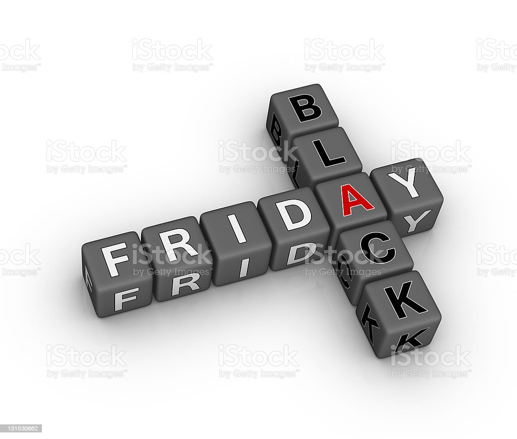 black friday sale sign royalty-free stock photo