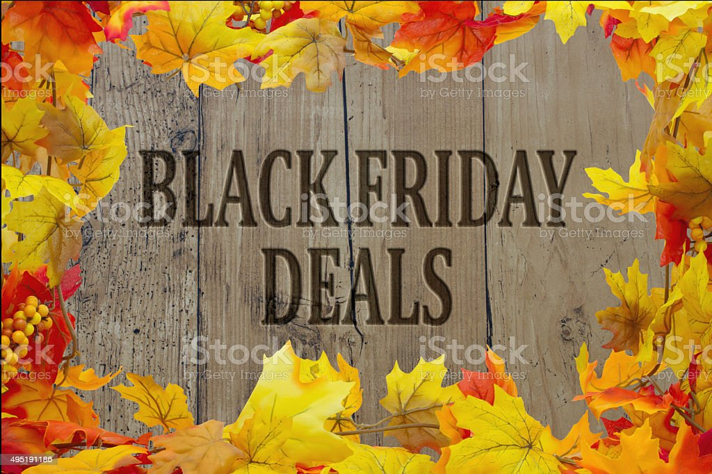 Black Friday Shopping Deals stock photo