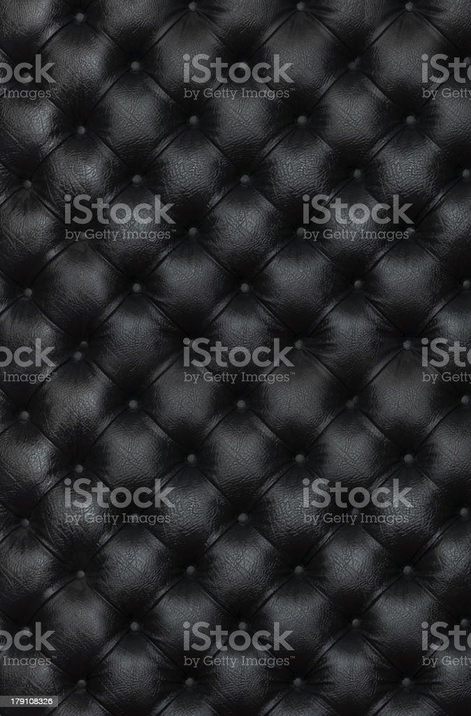black genuine leather stock photo