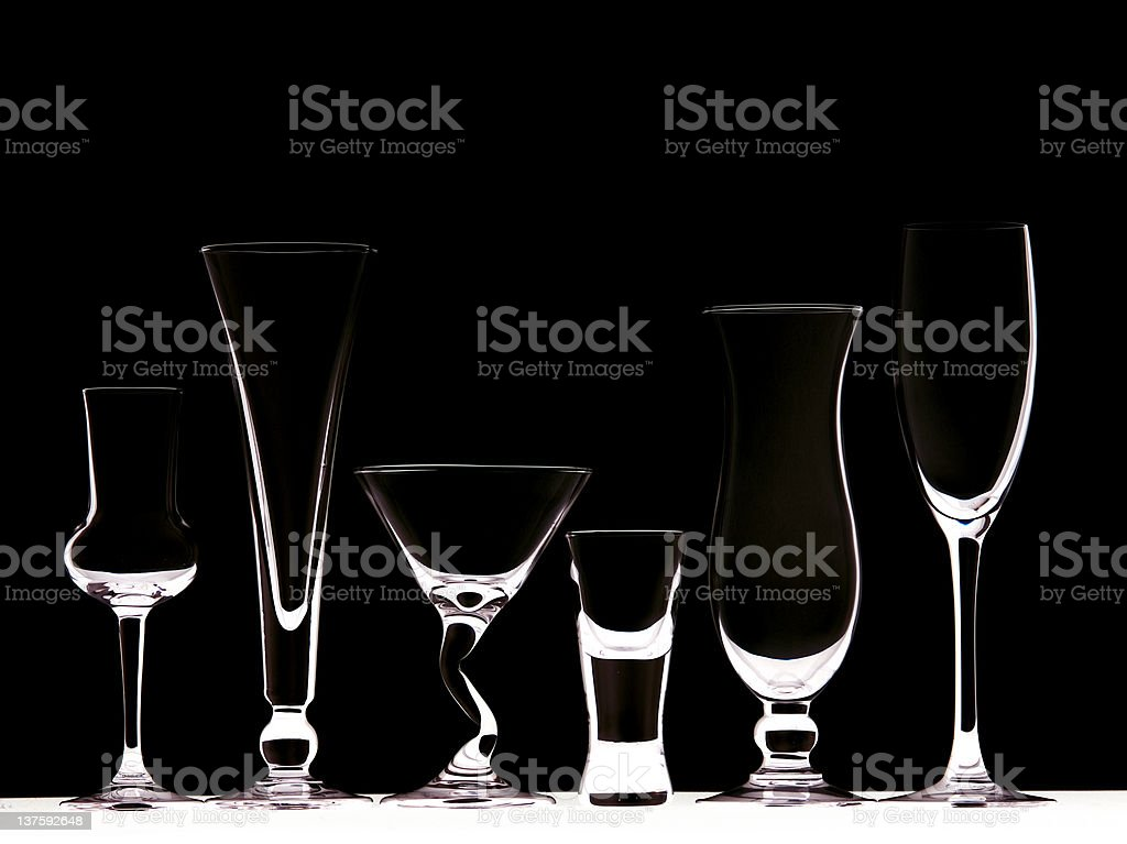 Black Glasses royalty-free stock photo