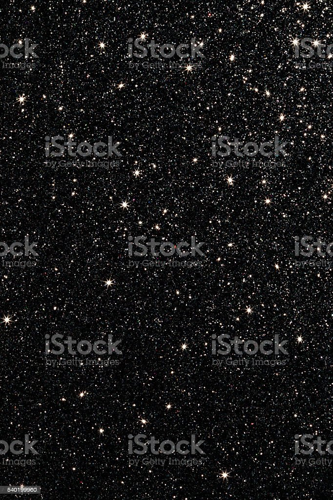 Black Glitter Background stock photo