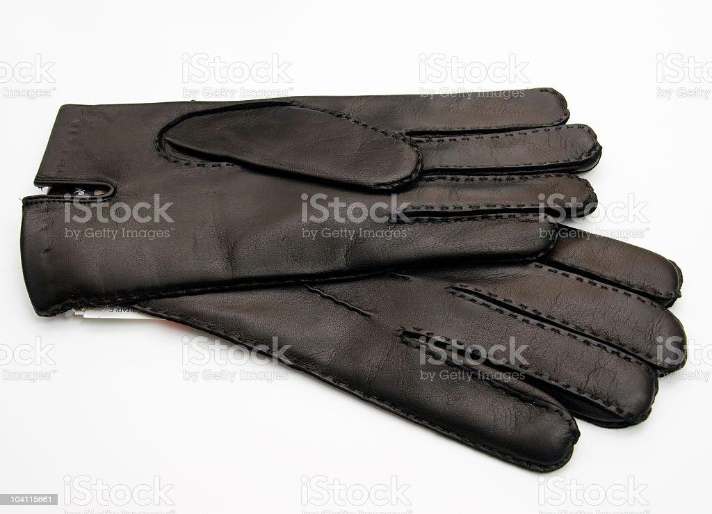 Black Gloves royalty-free stock photo