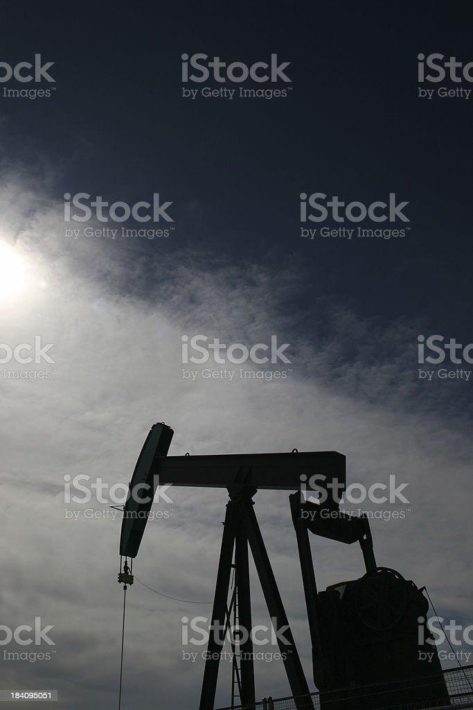 Black Gold stock photo