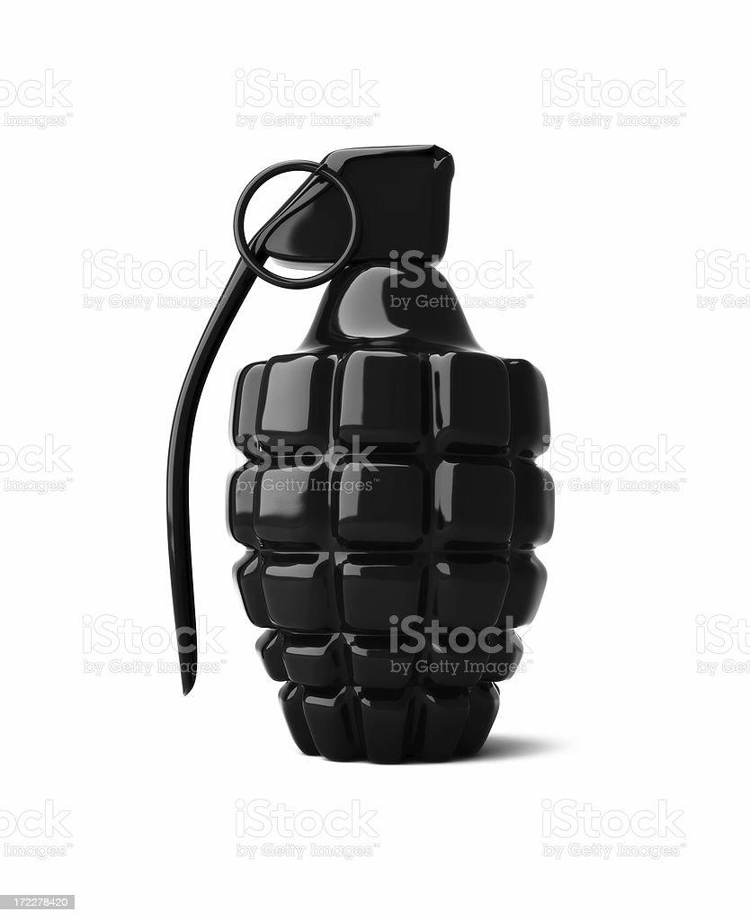 Black Grenade royalty-free stock photo