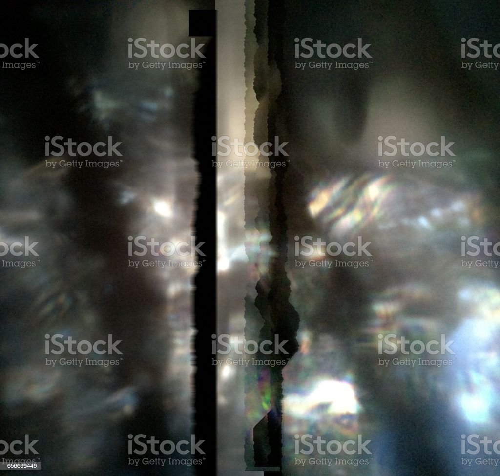 Black Grey Modern Abstract Watermark Prism stock photo