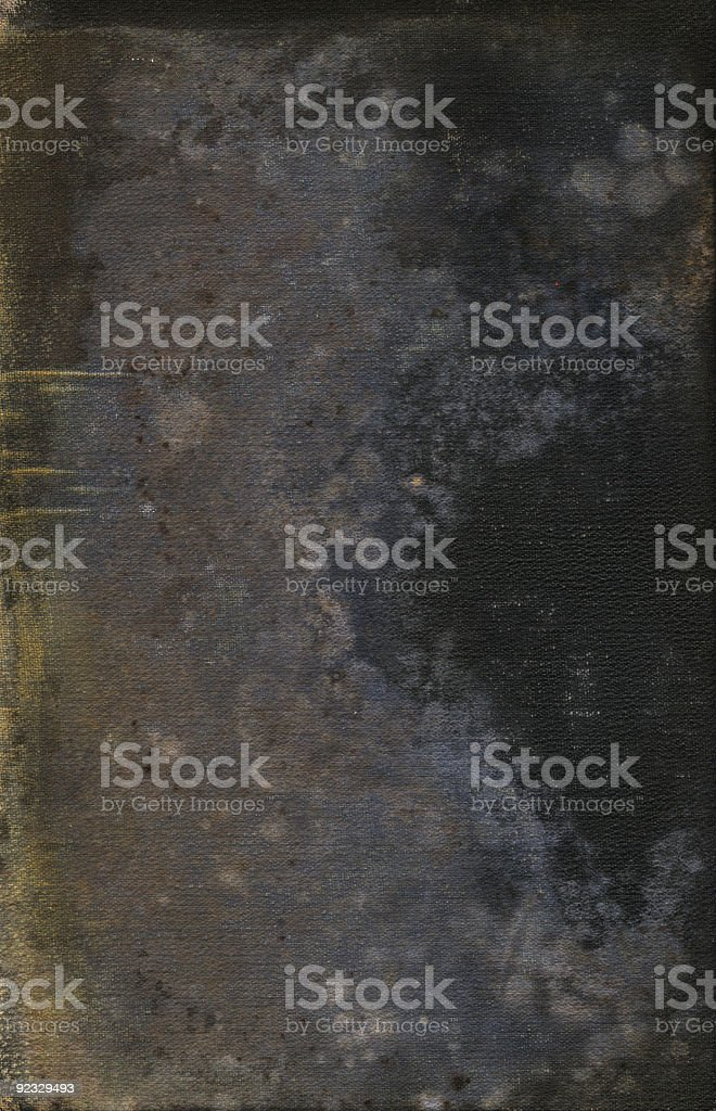 Black grunge background with stains and spots royalty-free stock photo