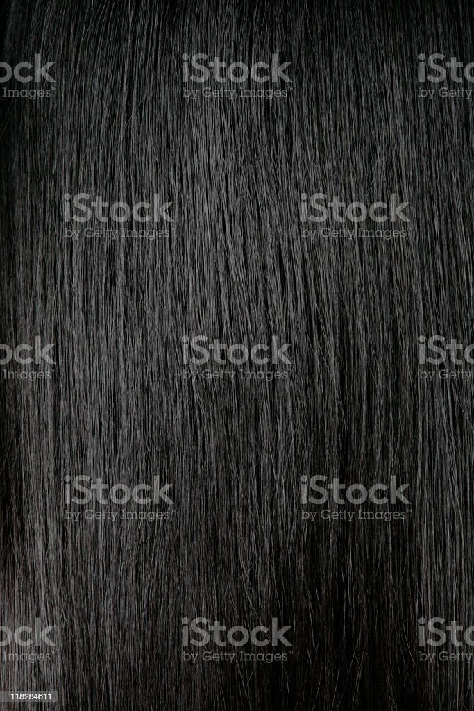 Black Hair Background stock photo