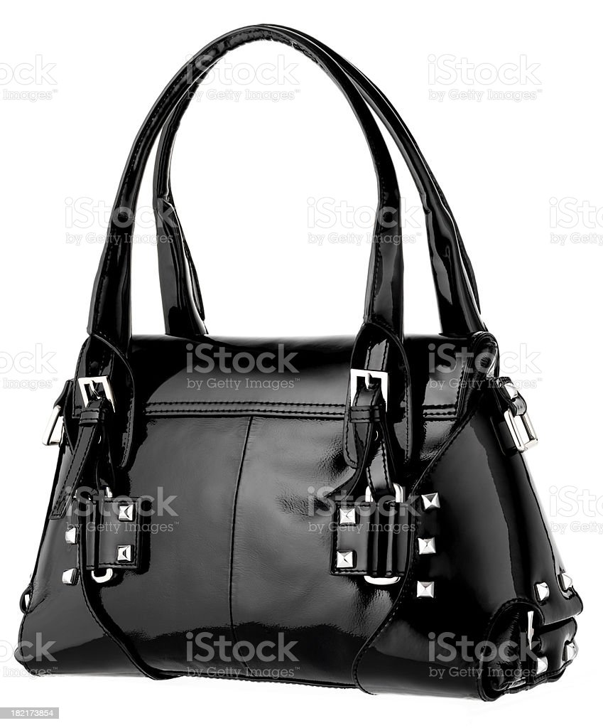 black handbag 2 royalty-free stock photo