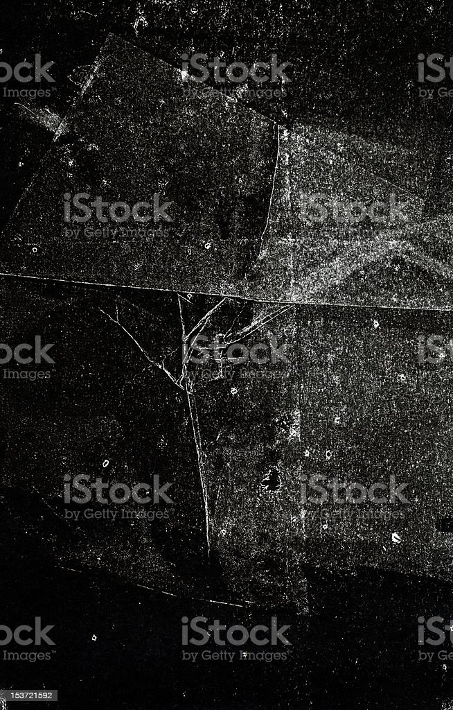 black handprinted backgropund royalty-free stock photo