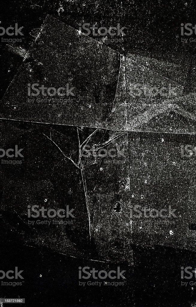 black handprinted backgropund stock photo