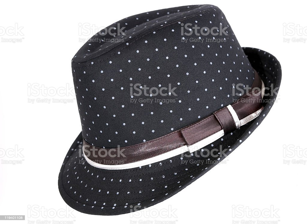 Black  hat royalty-free stock photo