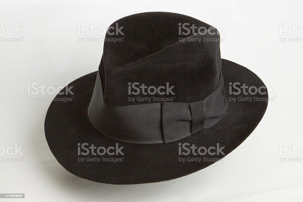 Black hat stock photo