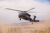 UH-60 Black Hawk Military Helicopter