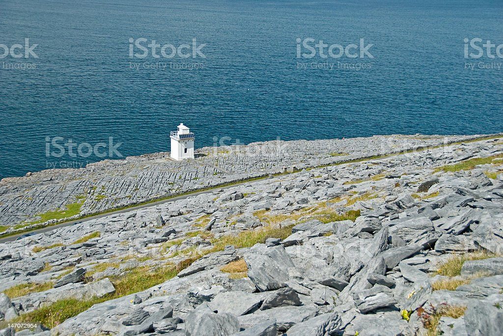 Black Head Lighthouse royalty-free stock photo