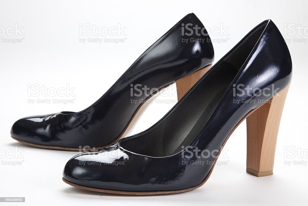 Black High Heel Pumps stock photo