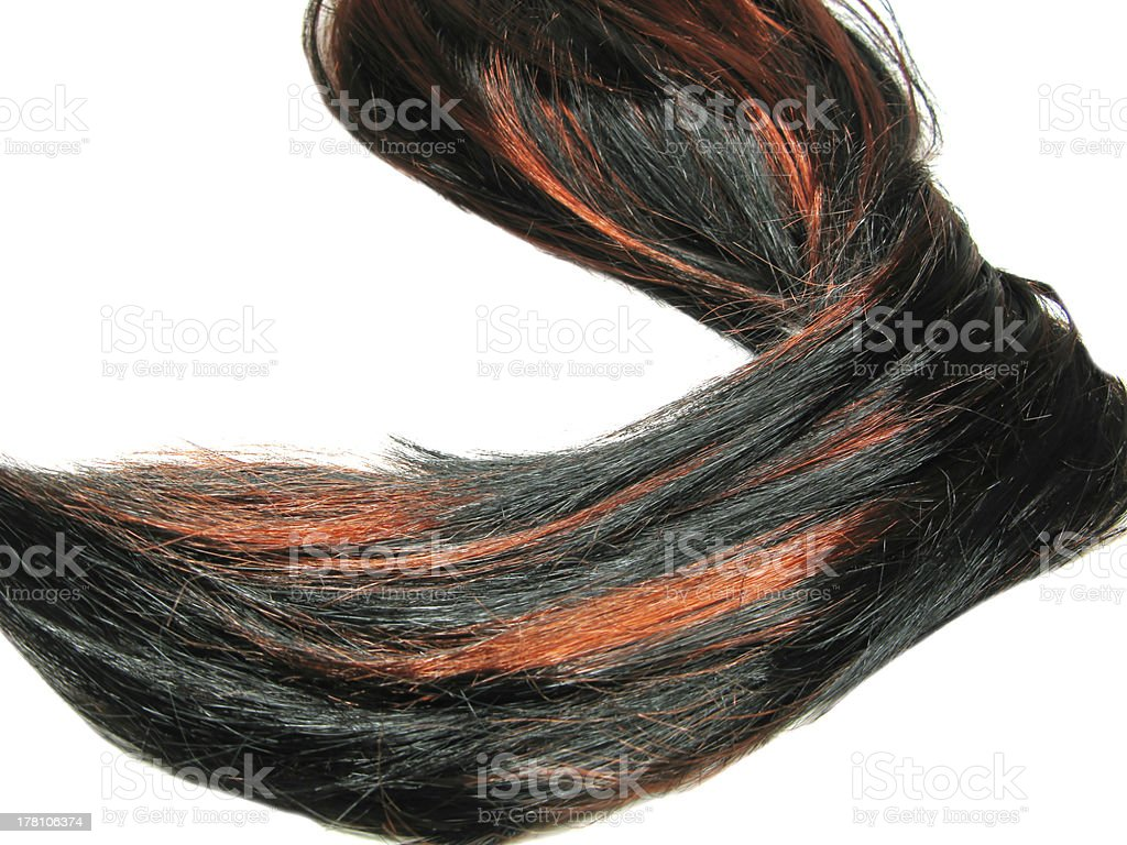black highlight hair texture background royalty-free stock photo