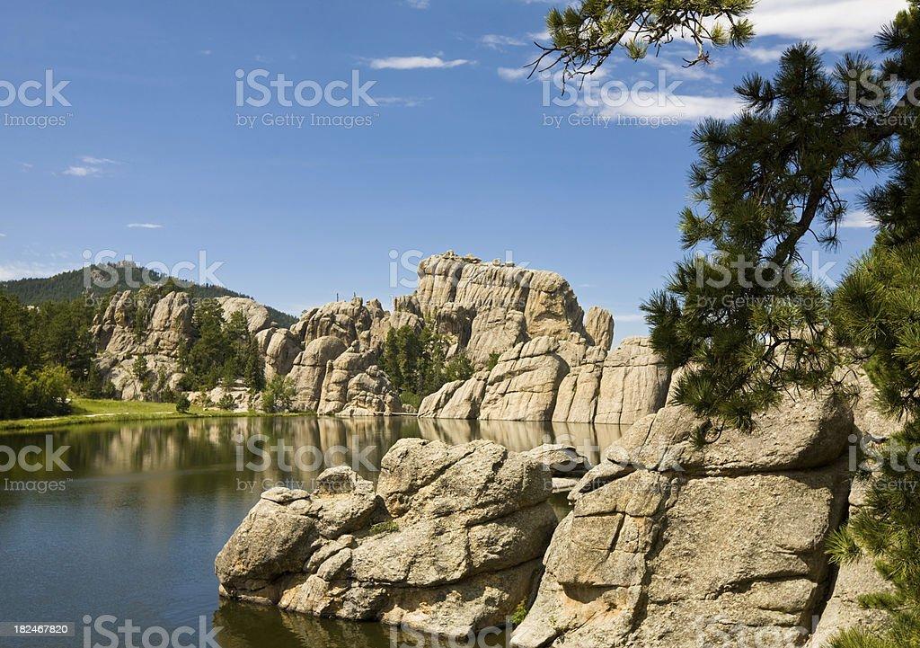 Black Hills landscape; South Dakota stock photo