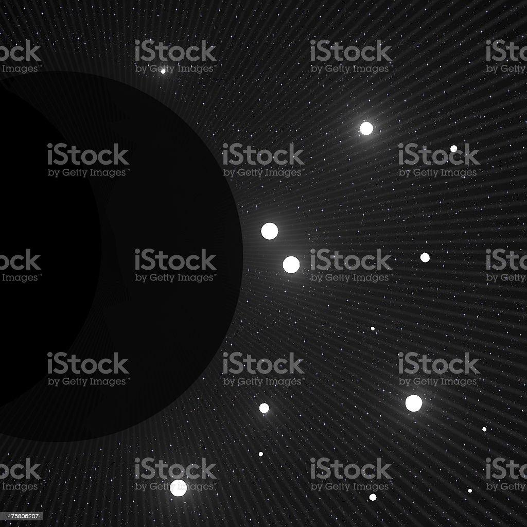 Black hole royalty-free stock photo