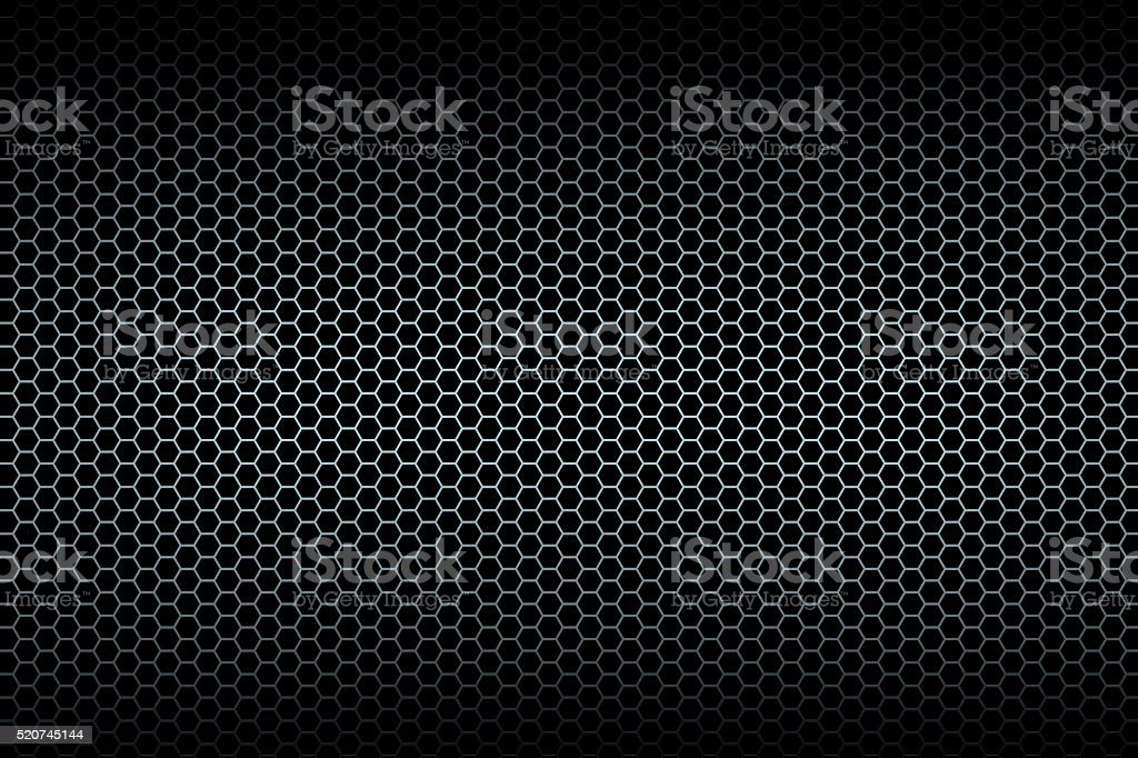 Black honeycomb background stock photo